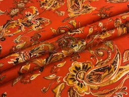 WISKOZA PAISLEY ORANGE
